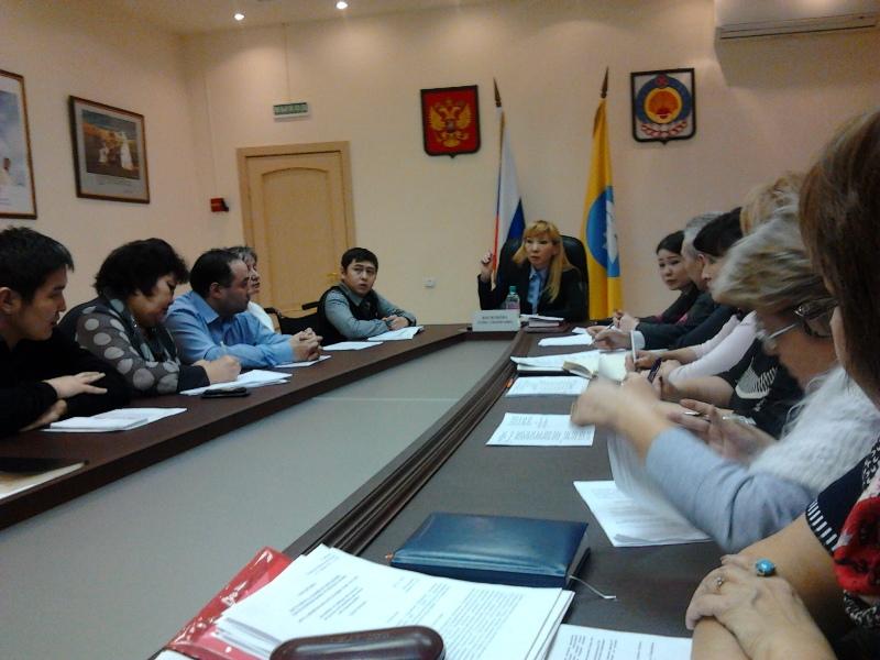 Встреча заместителя Председателя Правительства Республики Калмыкия